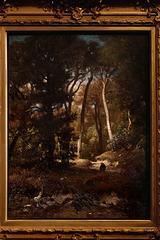 """""""Clairière dans la forêt"""" (Jules Dupré - vers 1876)"""