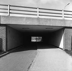 Underpass at Cranbourne Lane Basingstoke, 1981