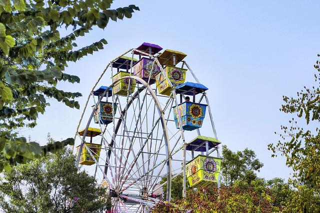 Alone on the Ferris Wheel – Labor Day Festival, Greenbelt, Maryland