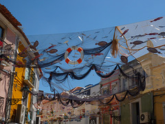 Setúbal, street decoration IV - fish