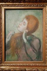 """""""Femme se coiffant"""" (Edgar Degas - 1894)"""