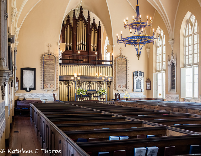 Huguenot Church Charleston South Carolina