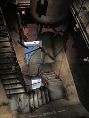 Treppe Mischanlage