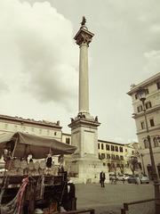 Roma dal taxi