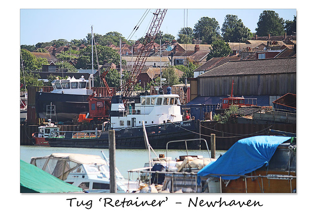 Tug 'Retainer'  - Newhaven - 6.7.2015