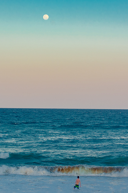 Indian Ocean Moonrise cropped