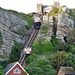 east hill cliff railway, hastings, sussex,funicular built 1902