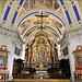 Saint-Nicolas-de-Véroce (Saint-Gervais-les-Bains) (74) 11 septembre 2019. L'église baroque Saint-Nicolas.