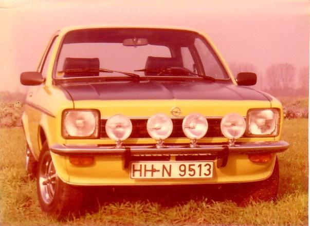 My 2. own car 1976-78: Opel Kadett C SR