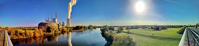 Hanau, Großauheim, Limesbrücke, KW Staudinger