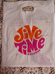 Shopping bag from Jive Time records