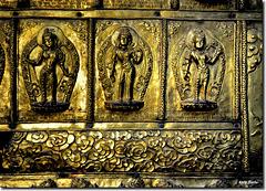 """Details of an old door"" - Kathmandu - Nepal"