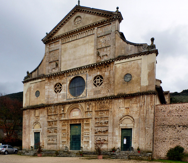 Spoleto - San Pietro extra moenia