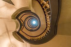 Staircase - Treppenhaus / Messberghof Hamburg