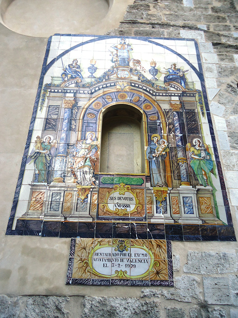 Valencia: iglesia de Santa Catalina 7
