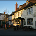 sunlight on the Red Lion