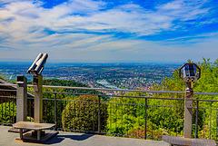 Blick vom Königstuhl / Koenigstuhl Vista - HFF (270°)