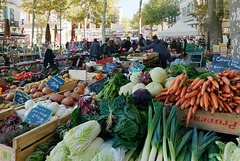 Jour de marché à Salon-de-Provence (1)