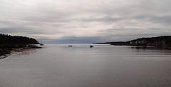 Ciel et mer / Céu e mar em uma grande calma