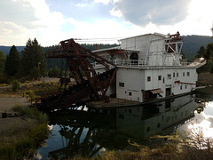 Sumpter gold dredge