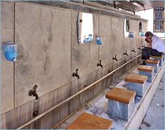 Izmir - il pediluvio della moskea - (510)