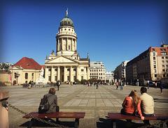 admiring Berlin