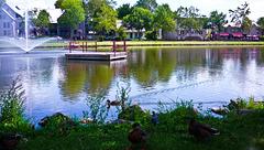 Au Parc de l'étang - Mascouche