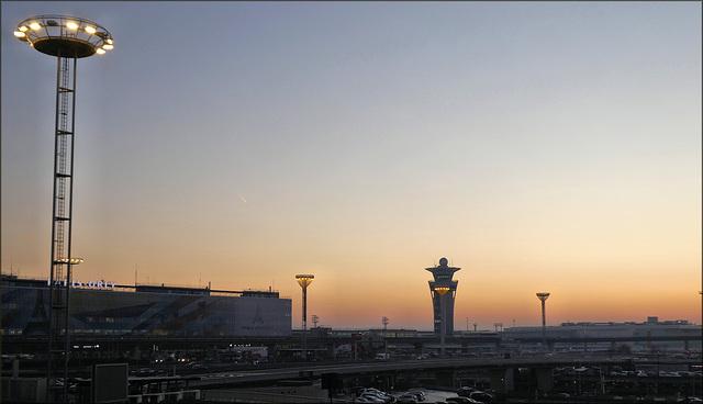 Orly (Aéroport de Paris) (94) 31 décembre 2019.