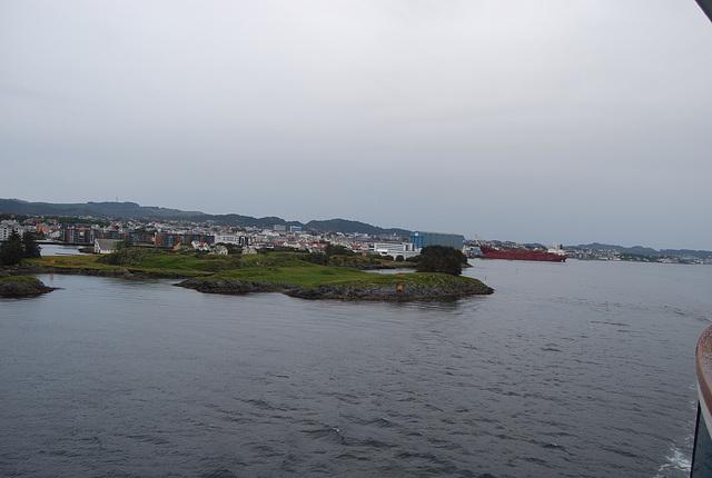 En partant d'Haugesund