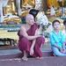 Buddha hat Besuch