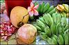 Victoria : la frutta esposta nel mercato
