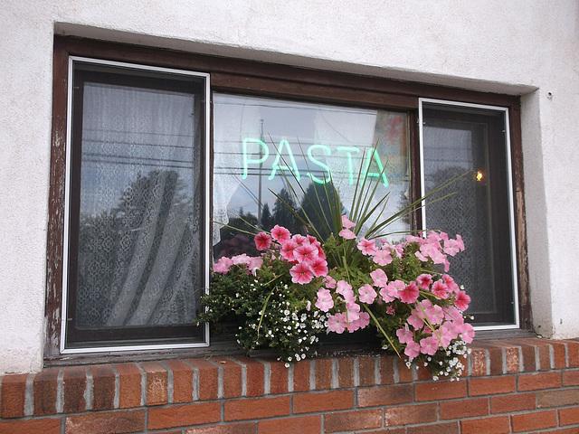 Pâtes fleuries / Flowery pasta