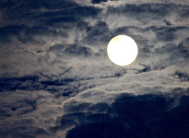 Mond am 9ten August 2014