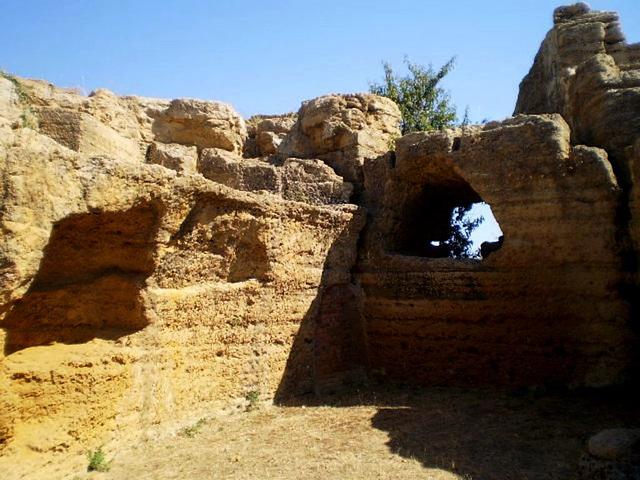 Paleo-christian necropolis.
