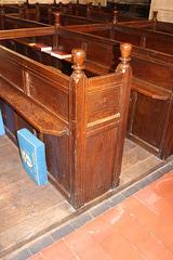 Box Pews, St Peter's Church, Clayworth, Nottinghamshire