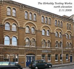 Southwark - Kirkaldy's Testing & Experimenting Works, 99 Southwark Street, 2.11.2008 north elevation