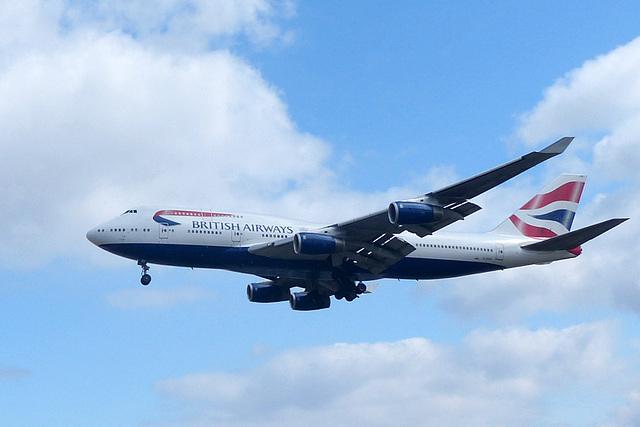 G-CIVD approaching Heathrow - 8 July 2017
