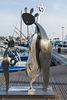 SAINT RAPHAEL: Exposition de sculpture de Charles STRATOS 01