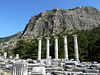 Priene- Mount Mycale and the Temple of Athena Polias