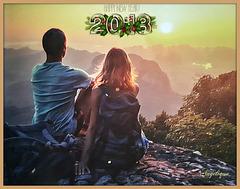 Regarder ensemble vers l'avenir ! le Bonheur est au bout du chemin !
