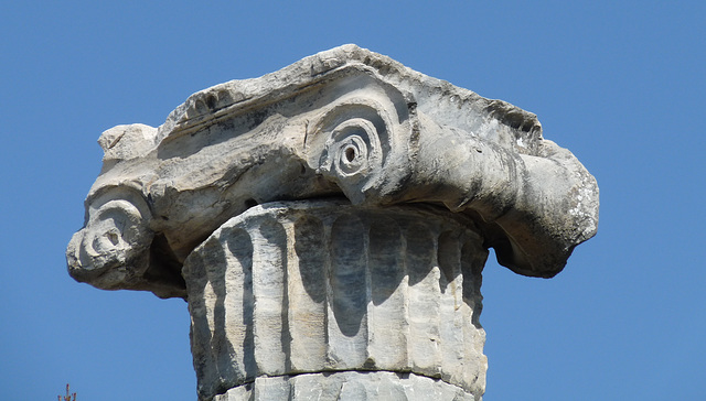 Priene- Detail of a Column