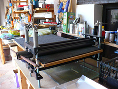 I have a rolling press!