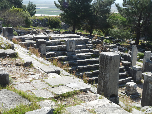 Priene- Bouleterion (Council Chamber)