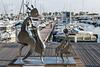SAINT RAPHAEL: Exposition de sculpture de Charles STRATOS 02
