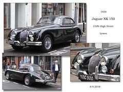 1959 Jaguar XK150 - Lewes - 8.9.2018
