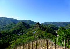 DE - Altenahr - Blick zur Burg Are