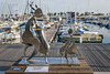 SAINT RAPHAEL: Exposition de sculpture de Charles STRATOS 03