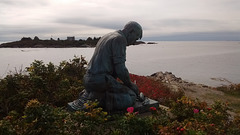 Lobsterman Statue at Land's End