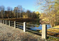 Brücke zur Schlossinsel Ahrensburg
