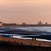 Eveningview on the Belgian coast
